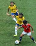 Brasi Chile Futebol Feminino 25