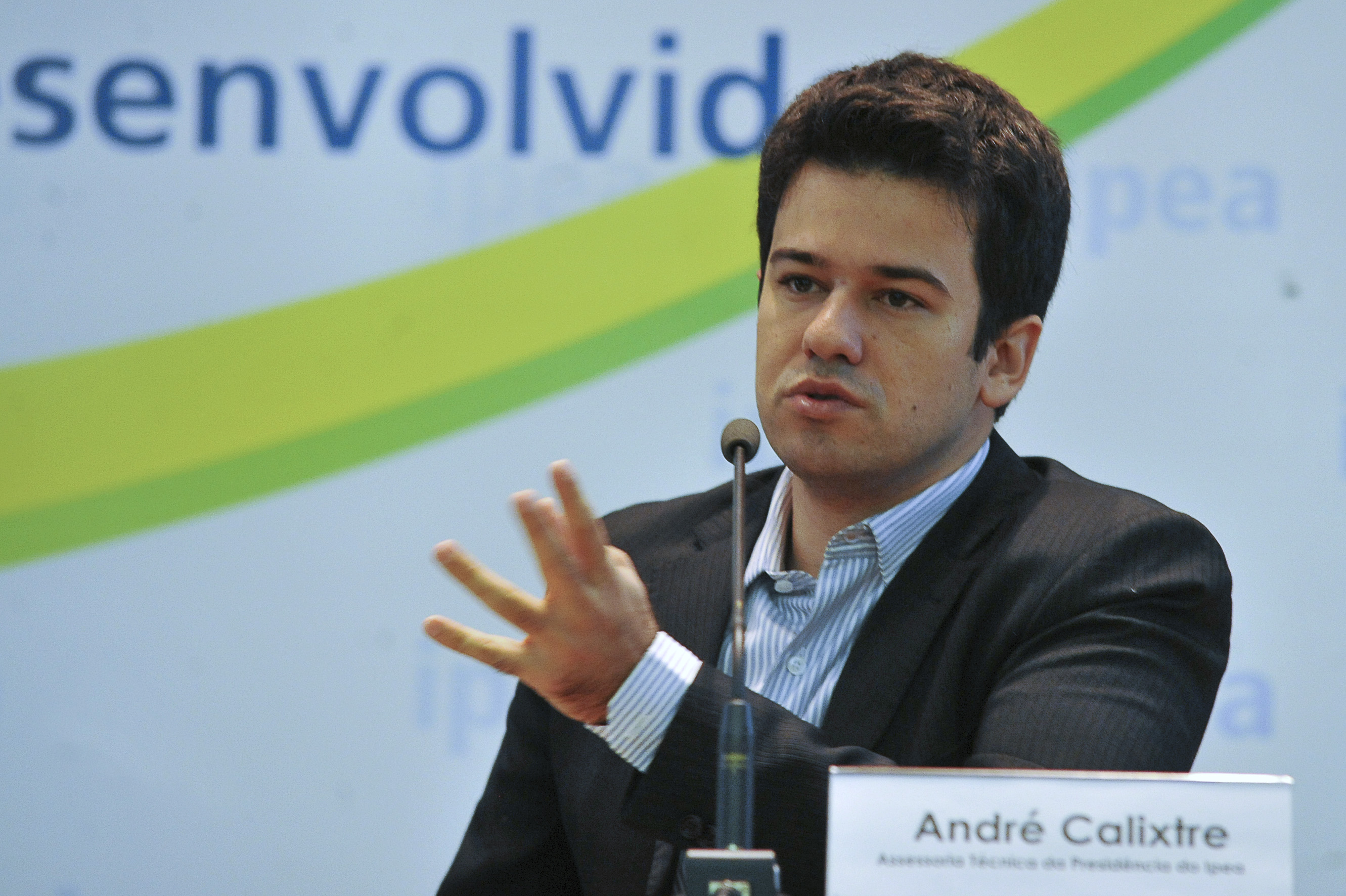 André Calixtre. Fotografia: Agência Brasil