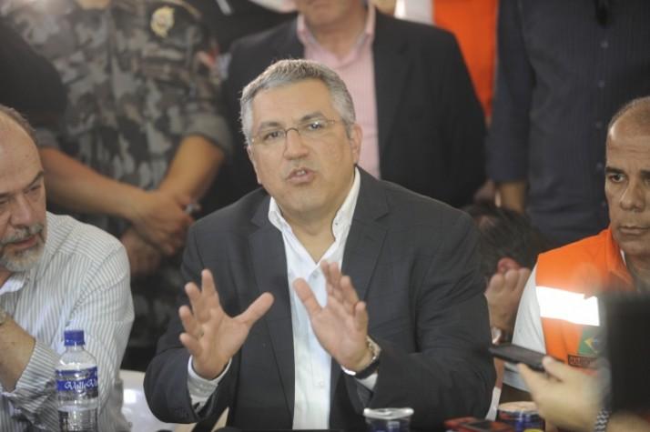 Ministro da Saúde, Alexandre Padilha fala sobre Tragédia