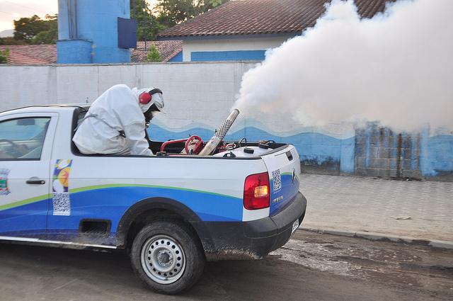 O Fumacê é chamado tecnicamente de nebulização espacial