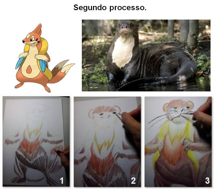 Ilustrador que criou pokémons amazônicos teve dificuldade em fazer a ariranha
