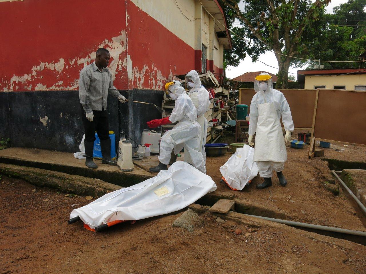 Epidemia de ebola marca 2014