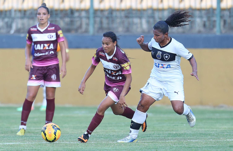 EBC   Ferroviária e Botafogo fazem jogo decisivo da semifinal do Brasileiro  de Futebol Feminino bab64ec42a