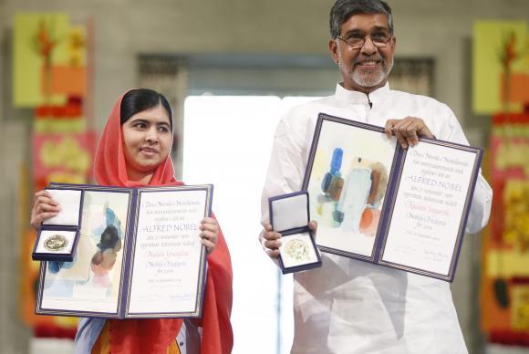 Nobel da Paz vai para Kailash e Malala