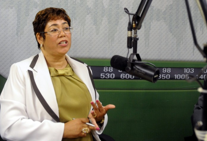 Erenice Guerra no programa Bom Dia Ministro