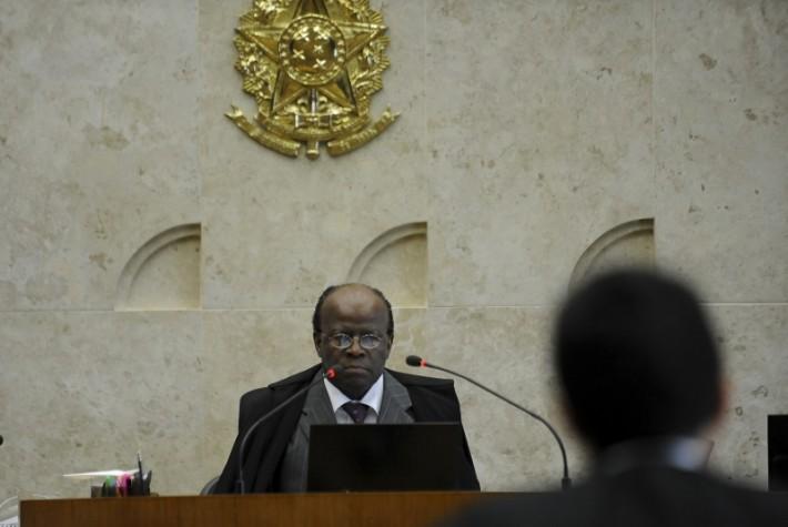 Joaquim Barbosa na presidência do STF