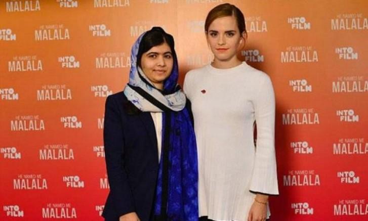 Malala e Emma Watson