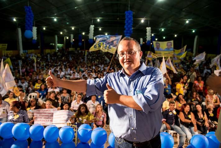 Candidato ao governo de Mato Grosso Pedro Taques (PDT)