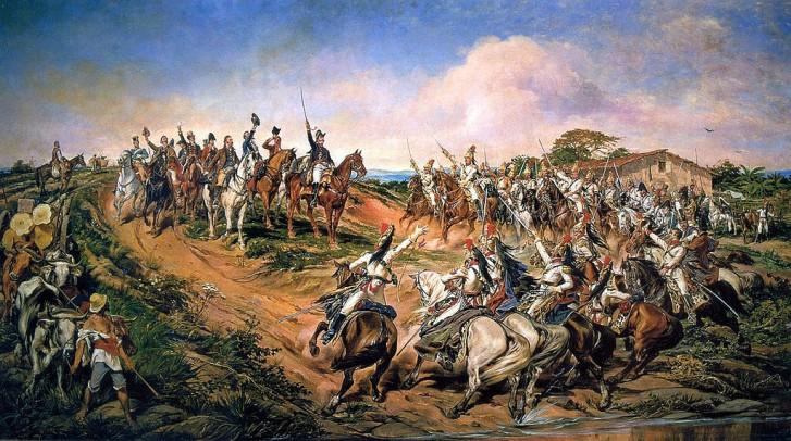 Independência ou Morte, do pintor paraibano Pedro Américo (óleo sobre tela, 1888).