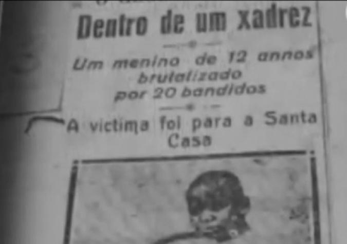 Repórteres do Jornal do Brasil encontraram o menino na Santa Casa do RJ em estado lastimável. A veiculação do caso chegou ao Congresso e também ao Palácio do Catete que era sede do governo federal
