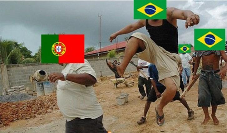 Guerra Memeal: Brasil e Portugal