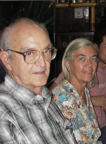 Hermann Gonçalves e Monika Barth