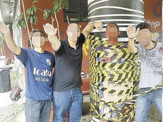 Estudantes fazem saudação nazista em trote na Faculdade de Direito da UFMG