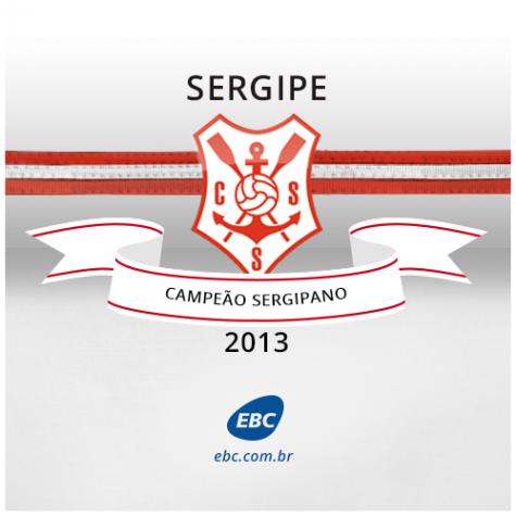 Sergipe é campeão sergipano de 2013