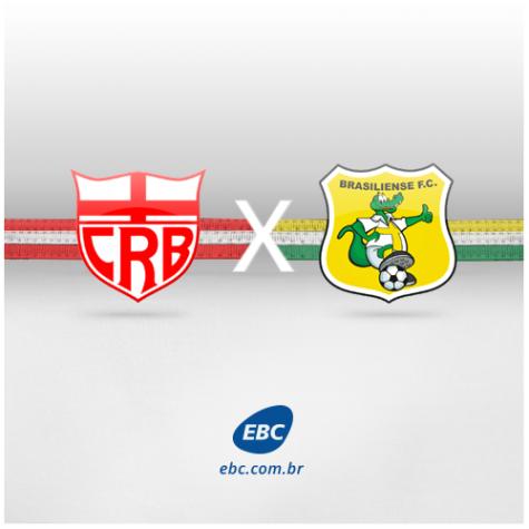 Arte do jogo CRB e Brasiliense 14/07 (sem info)