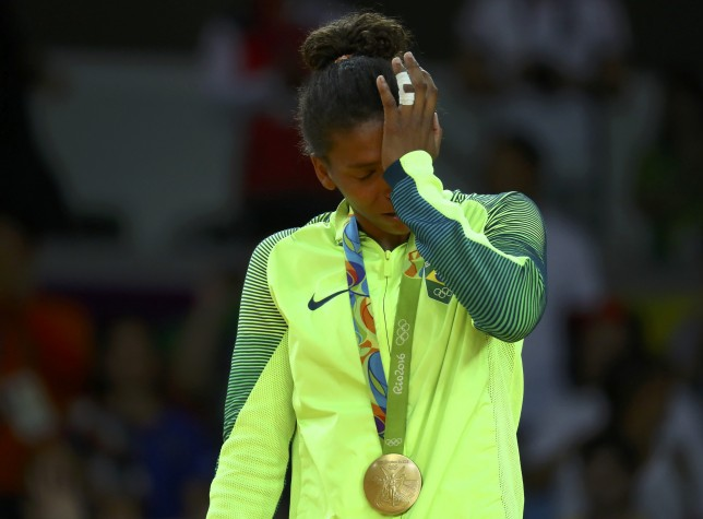 Rafaela Silva ganha ouro no judô