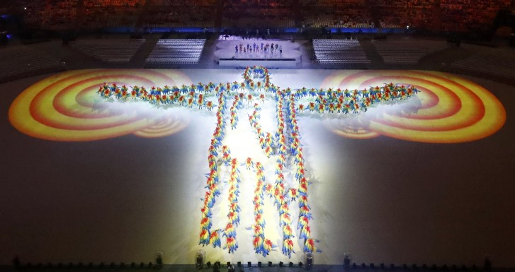 Reuters / Encerramentos das Olimpíadas / Direitos Reservados