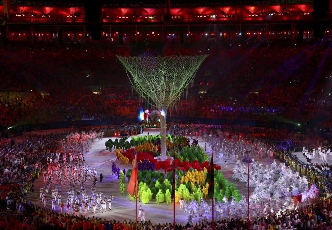 Reuters/Encerramento da Rio 2016 terminou em carnaval/VASILY FEDOSENKO