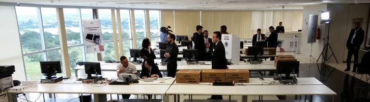 Local de testes é restrito à comissão avaliadora e investigadores