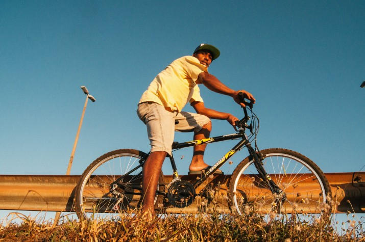 Ciclista em Tarauacá (AC) - Projeto Transite