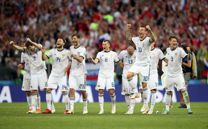 Rússia vence a Espanha nos pênaltis nas oitavas de final da Copa do Mundo