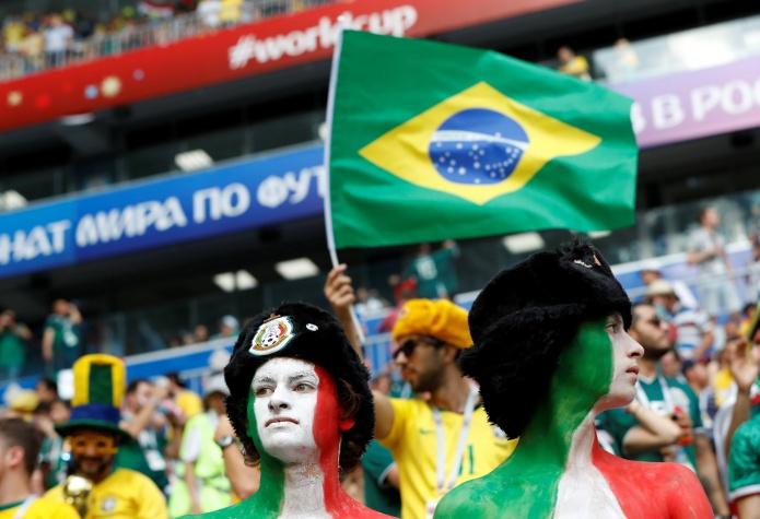 Copa 2018: Brasil x México