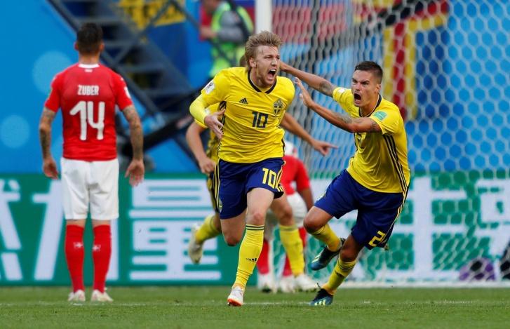 Suécia x Suíça - Copa do Mundo Rússia 2018