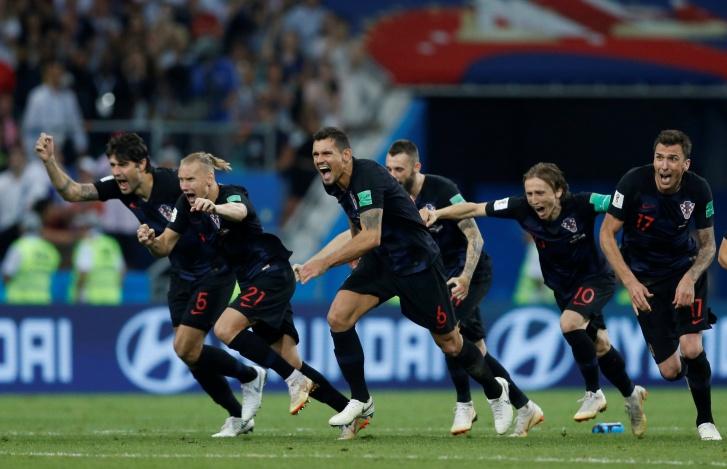 Copa 2018: Croácia celebra resultado contra Rússia e segue para a semifinal