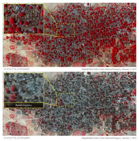 Imagens de satélite mostram ataque do Boko Haram na Nigéria, dizem ONGs