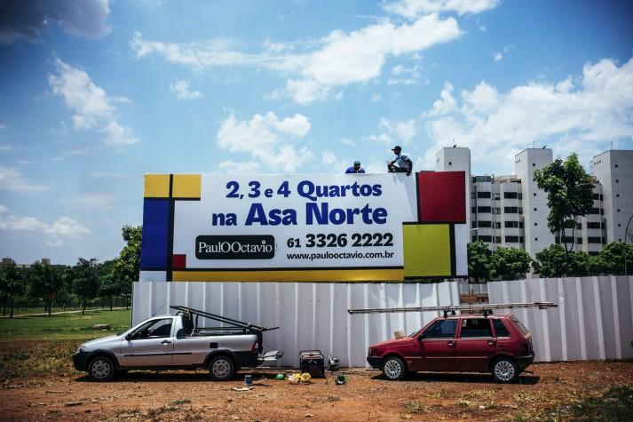 Obra construção Paulo Octávio