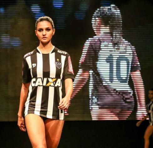 Lançamento do novo uniforme do Atlético Mineiro