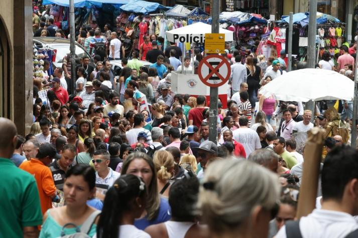 População, rua, pessoas