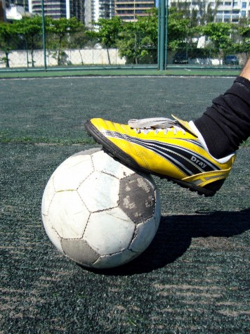 futebol chuteira