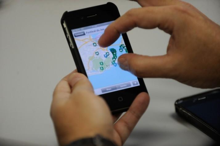 localização no celular