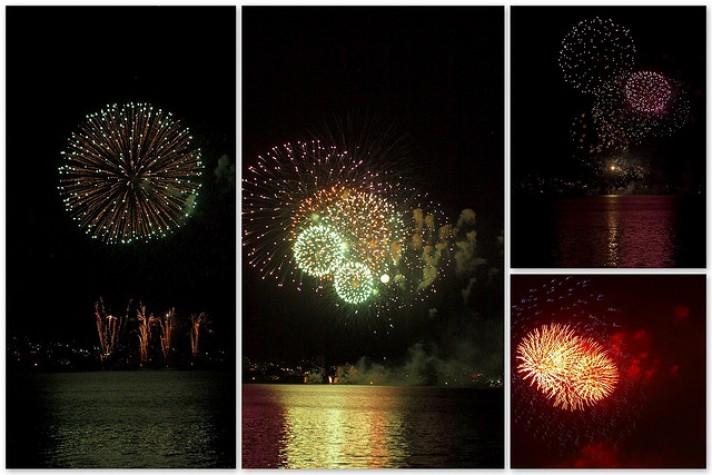 Florianópolis terá 17 minutos de queimas de fogos de artifício
