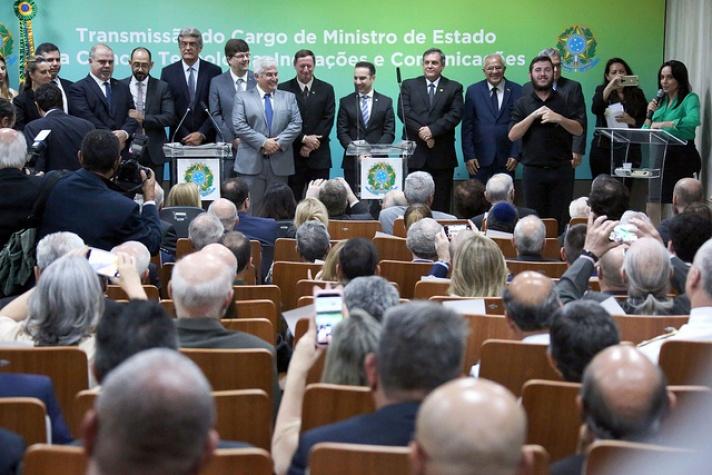 Cerimônia de transmissão do cargo de ministro da Ciência, Tecnologia, Inovações e Comunicações, Marcos Pontes