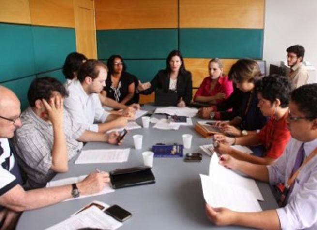 Reunião para formação conselho de comunicação df