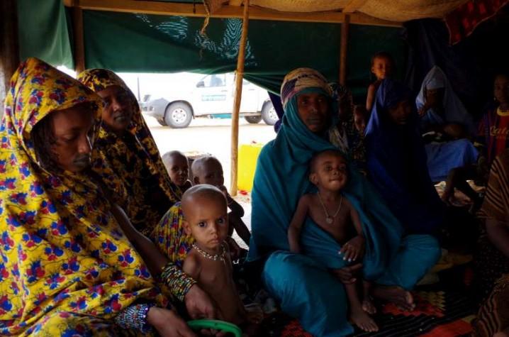 Campo de Refugiados na Mauritânia