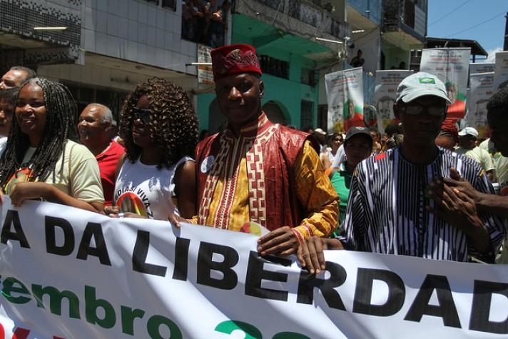 Algumas cidades realizam marchas no Dia da Consciência Negra