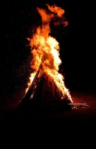 fogueira são pedro triangular