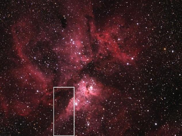 imagem do asteroide nasa