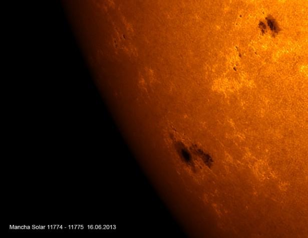 Mancha solar 2