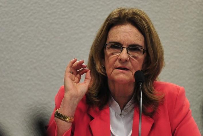 Graça Foster fala à Comissão de Assuntos Econômicos