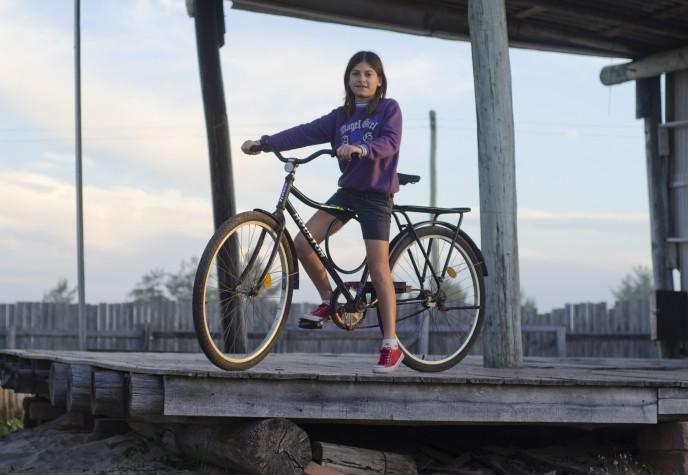 Ciclista em Torres (RS) - Projeto Transite
