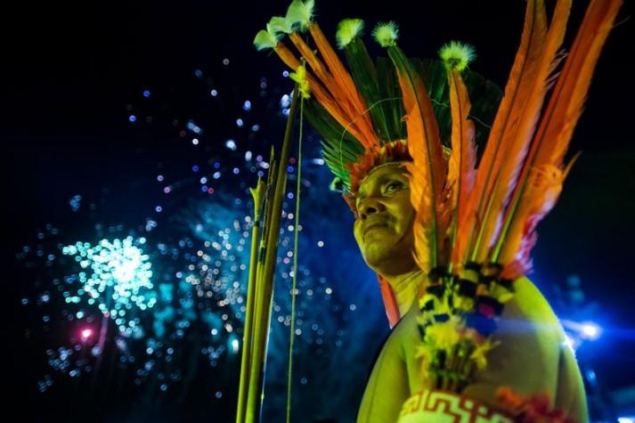 Encerramento Jogos Mundiais Indígenas