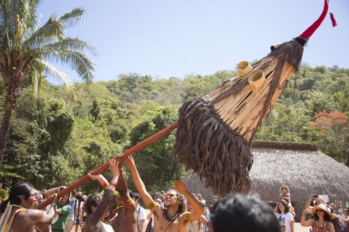Encontro de Culturas: Festa das Máscaras Kayapó