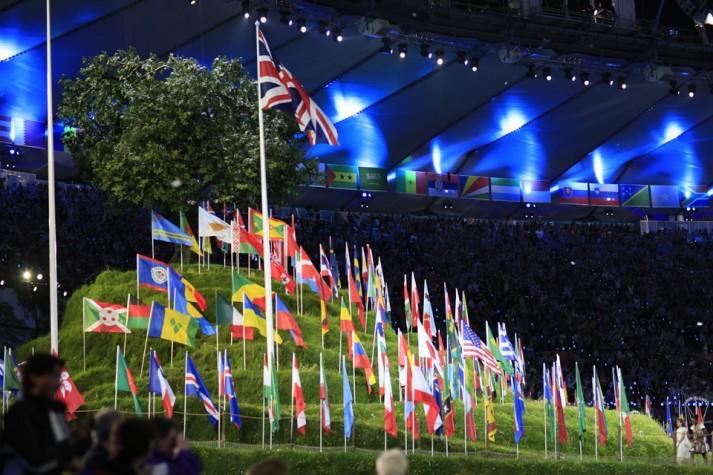 Abertura dos Jogos Olímpicos de 2012