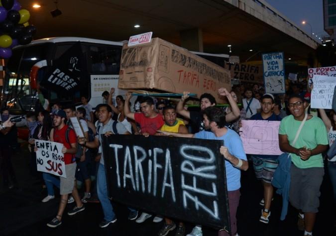Protesto em Brasília