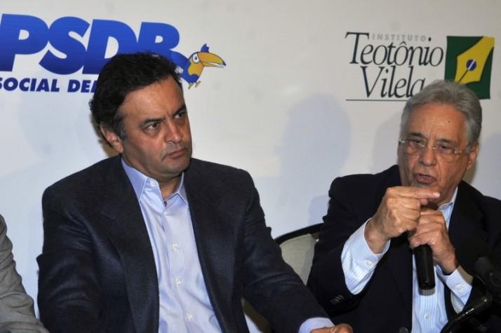 Aécio Neves é eleito presidente do PSDB