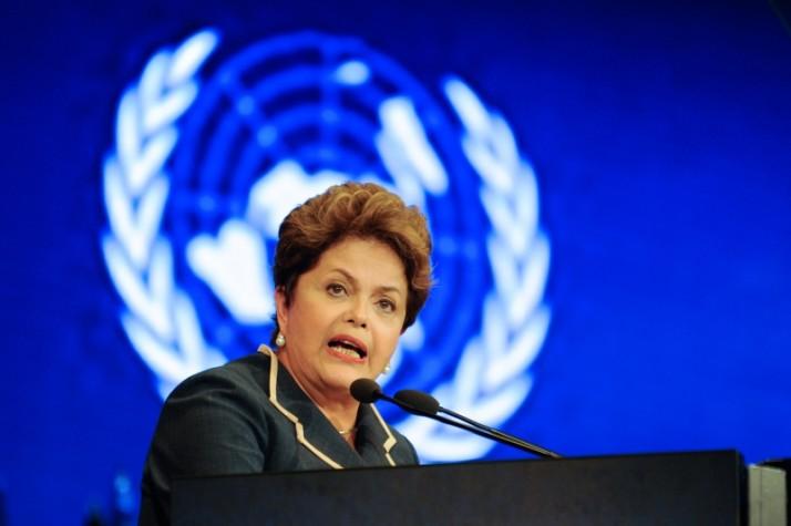 Dilma discursa em Conferência da ONU